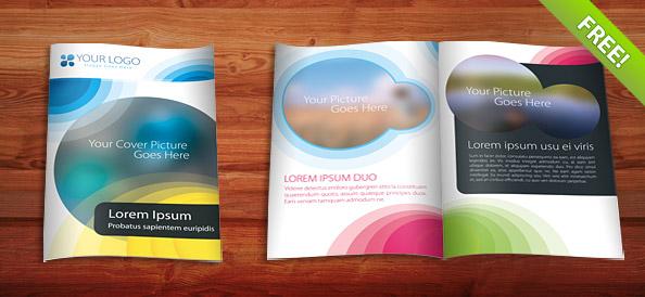 Free Psd Brochure Template Creative Minds