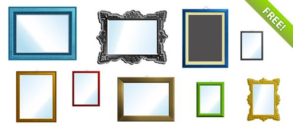 Free PSD Frames