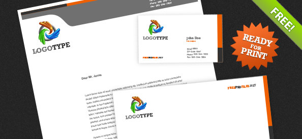 corporate identity psd pack free psd files