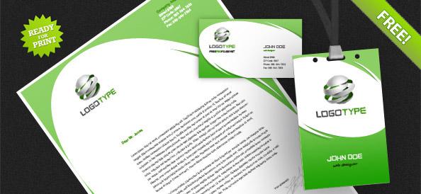 Corporate Identity PSD Pack 4