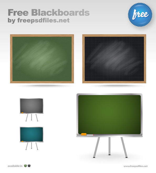 Free Blackboard Templates Preview Big