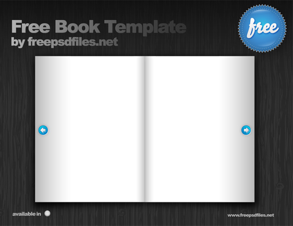 Free Book Template Preview Big