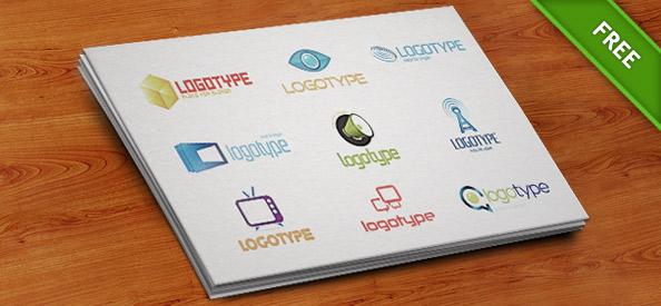 PSD Logo Design Templates Pack 1