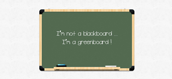 chalkboard psd template free psd files
