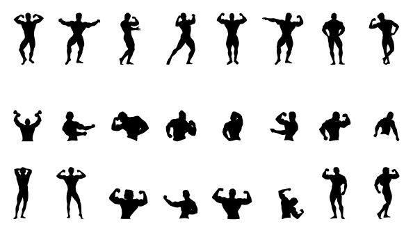 Fitness Silhouettes Set 2 Preview