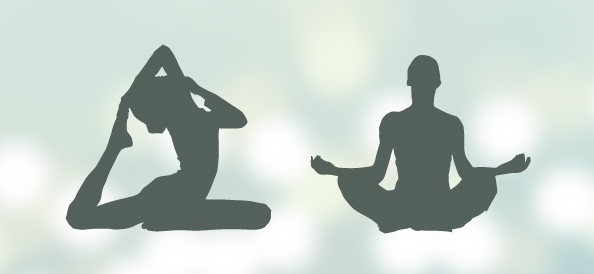 Yoga Silhouettes Set 2