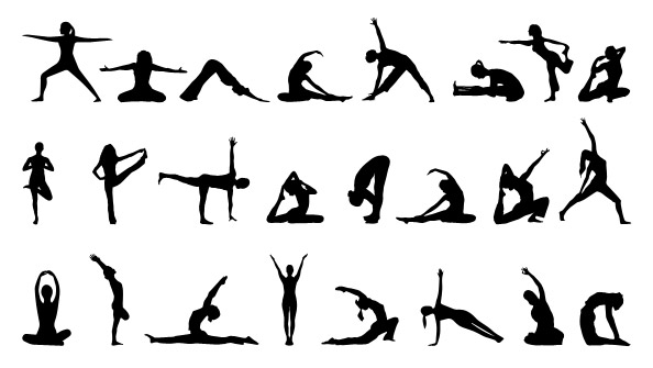 Yoga Silhouettes Set 2 Preview