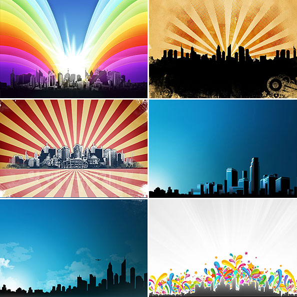 Urban Background Pack Preview
