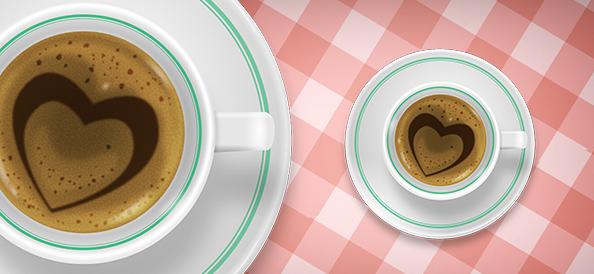 Free PSD Coffee Cup