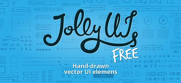 Free PSD Hand-drawn UI Elements