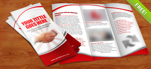 two fold brochure template psd - 40 best free psd print templates free psd files