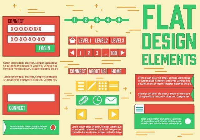 free-web-design-vector-elements