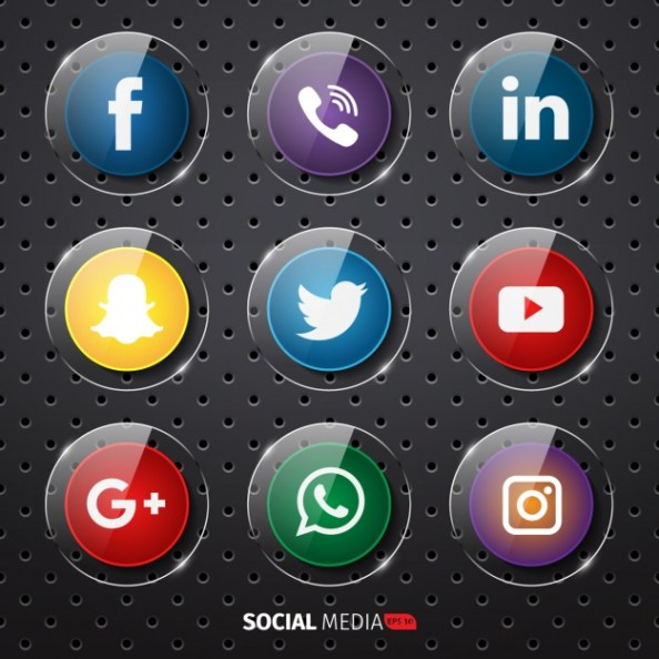 social-media-buttons-collection