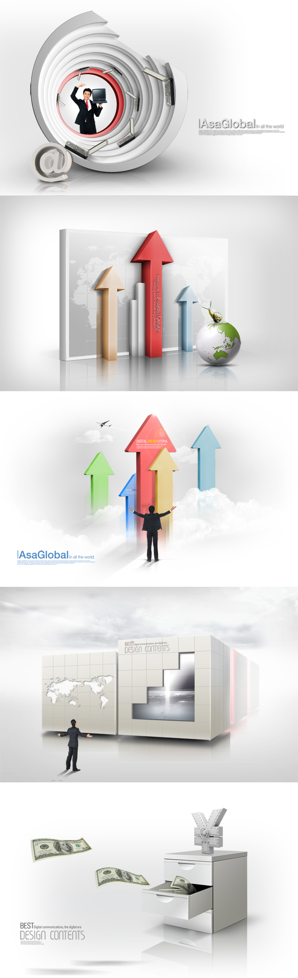 free psd business backgrounds