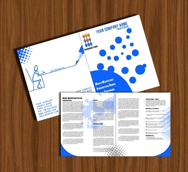 12 Attention Grabbing Bi-Fold Brochure Free PSD Templates