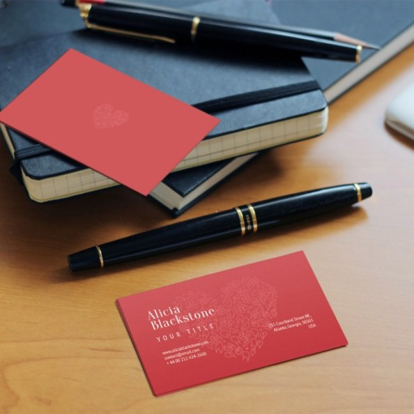 20 free psd business card mockup templates free psd files red business card 5 essential stationery mockup free reheart Image collections