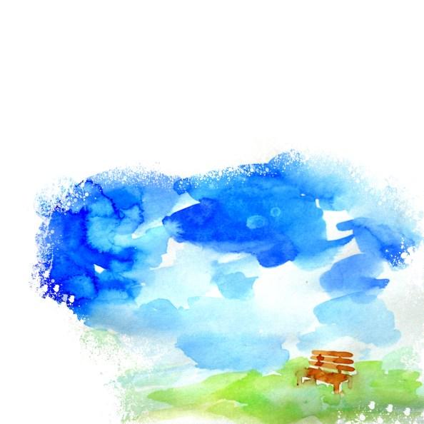 watercolor background freebie