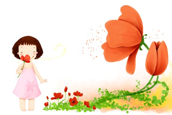 girl and poppy 2758x1848px