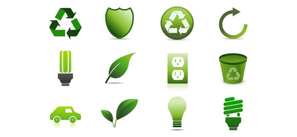 Green-Logo-Free-Vector-Design-Pack