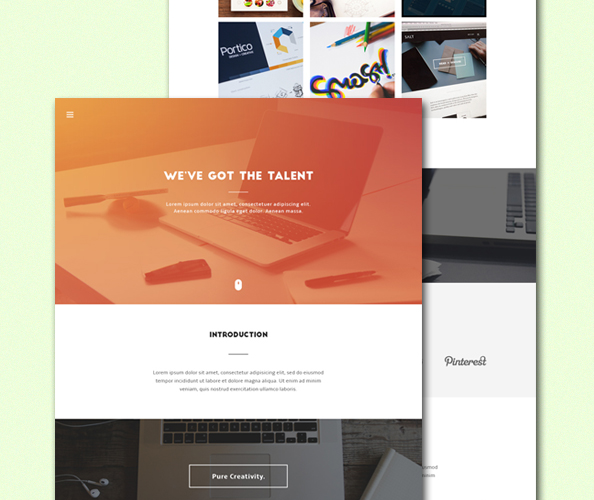 15 Free PSD Landing Page Templates for Lasting Impression