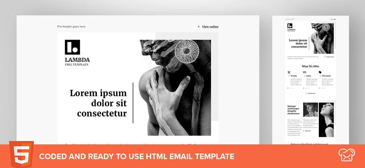 Mailbakery Lambda – Free HTML Email Template