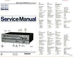 Philips 22AH186 Service Manual PDF Free Download