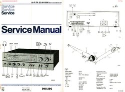 Philips 22AH684 Free service manual pdf Download