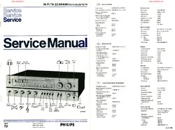 Philips 22AH686 Free service manual pdf Download