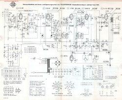 Telefunken JUBILATE TEAK 1261 Free service manual pdf Download