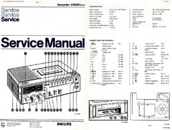 Philips D6920 Free service manual pdf Download