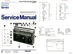 Philips D8444 Free service manual pdf Download