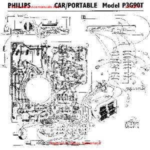 Philips P3G90T RADIO Free service manual pdf Download
