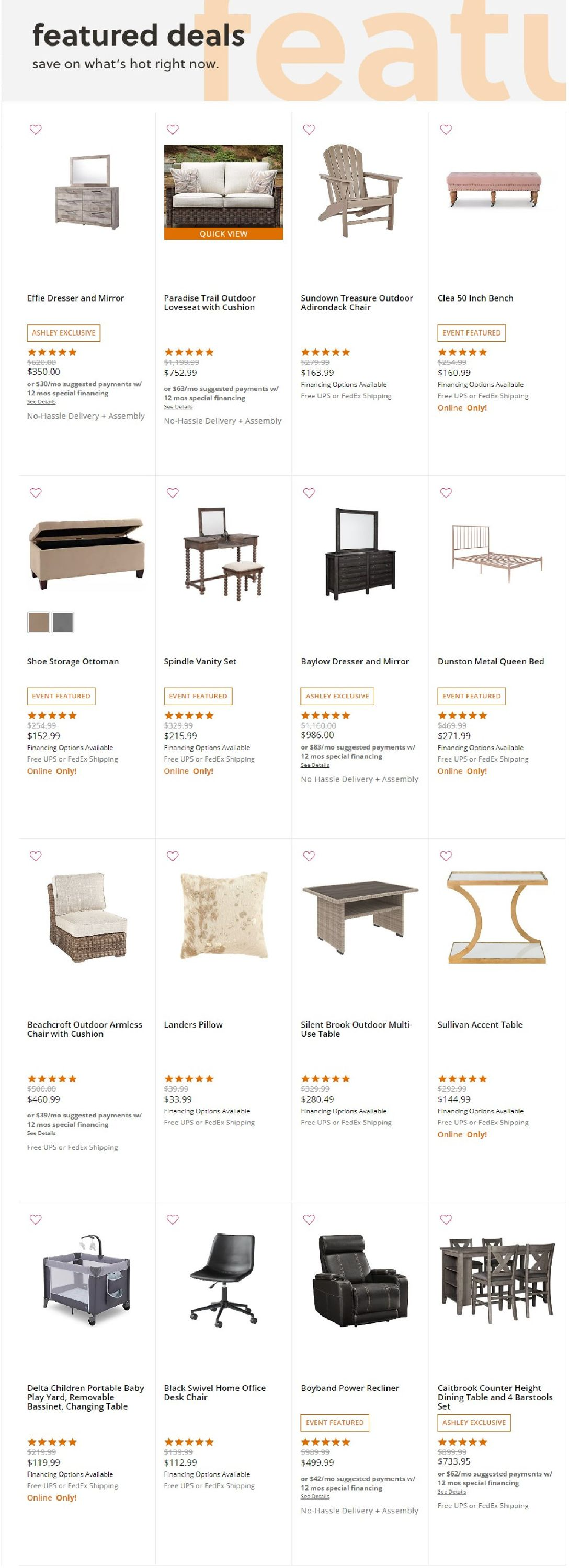 Ashley Furniture Pay My Bill : ashley, furniture, Ashley, Furniture, Black, Friday, Current, Weekly, 11/19, 11/25/2020, Frequent-ads.com