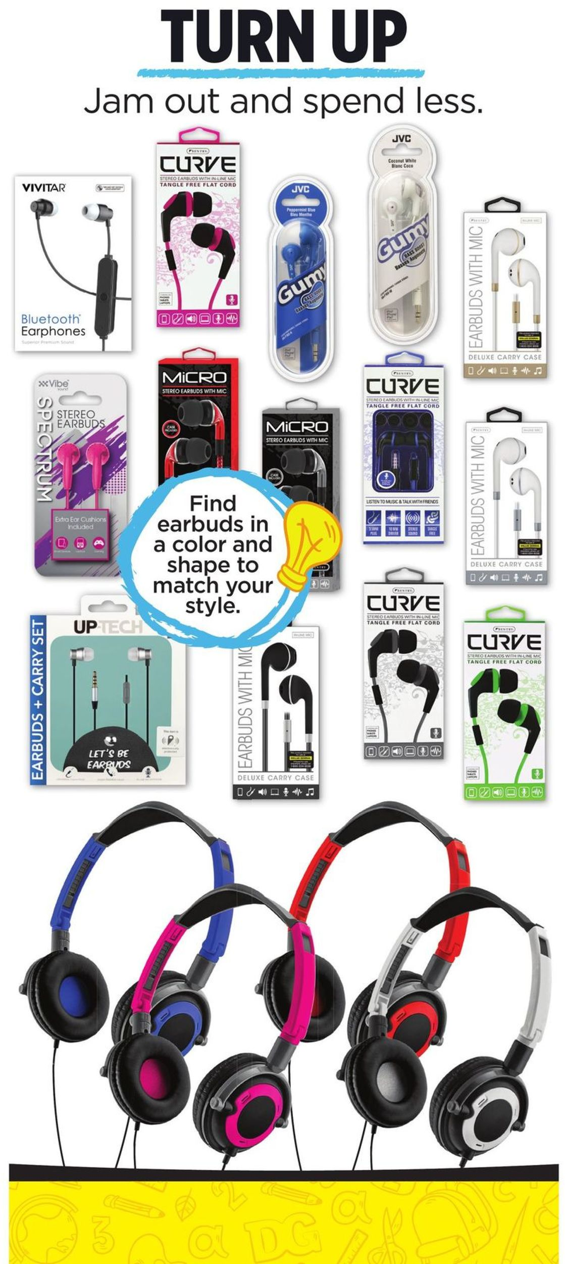 Dollar General Earbuds With Mic : dollar, general, earbuds, Dollar, General, Current, Weekly, 07/07, 09/03/2019, Frequent-ads.com