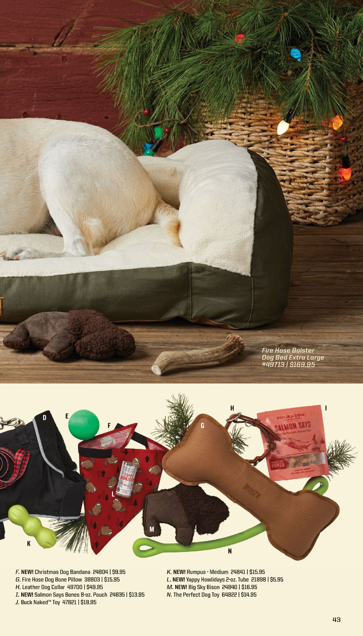 Fire Hose Dog Bed : Duluth, Trading, Christmas, Current, Weekly, 11/12, 11/16/2020, Frequent-ads.com