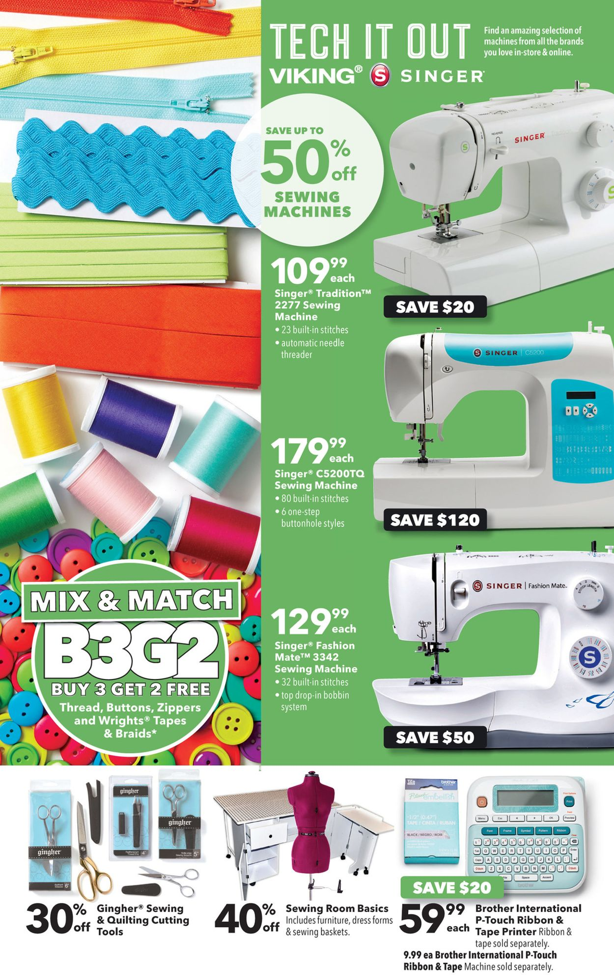 Joann Sewing Machines : joann, sewing, machines, Jo-Ann, Current, Weekly, 02/13, 02/26/2020, Frequent-ads.com