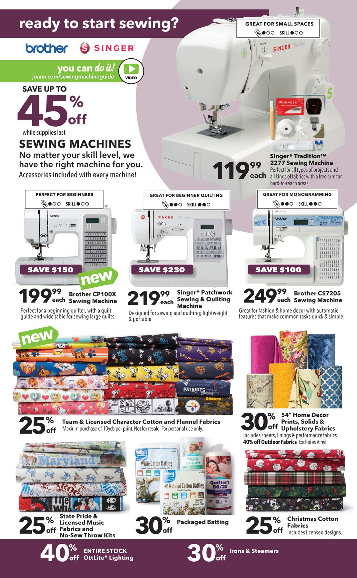 Joann Sewing Machines : joann, sewing, machines, Jo-Ann, Current, Weekly, 10/15, 10/31/2020, Frequent-ads.com