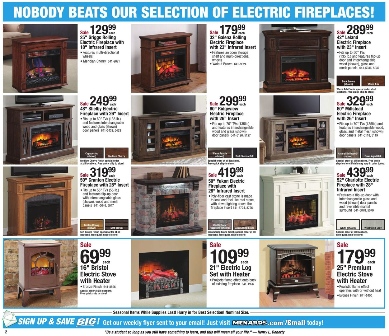 menards current weekly ad 11 03 11 09