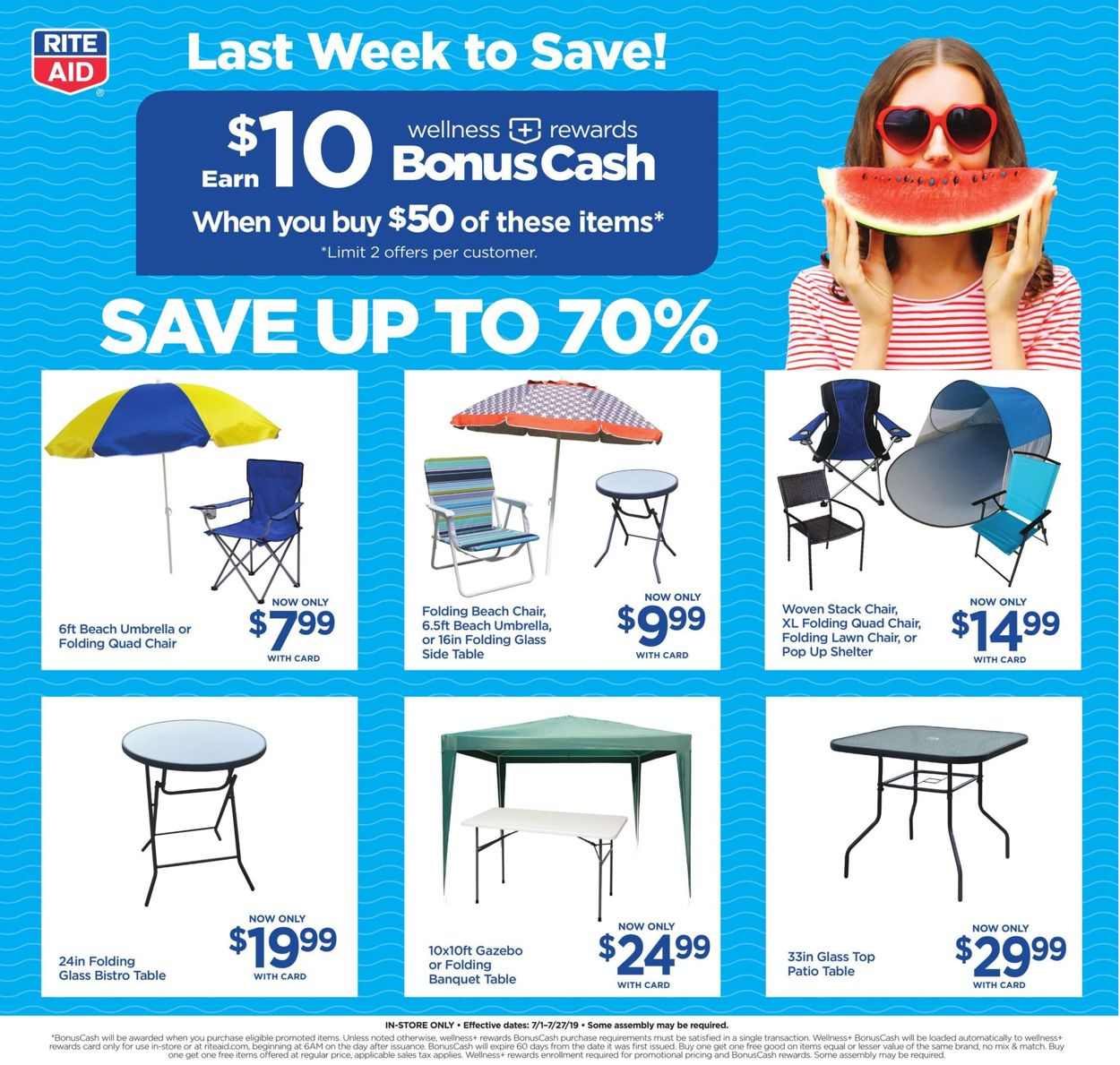 rite aid current weekly ad 07 28 08