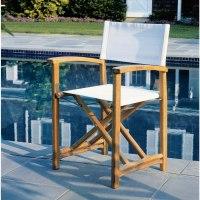 Kingsley Bate Capri Teak Director's Chair