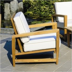 Kingsley Bate Amalfi Club Chair White Dining Room Chairs Target Teak Deep Seating Lounge By
