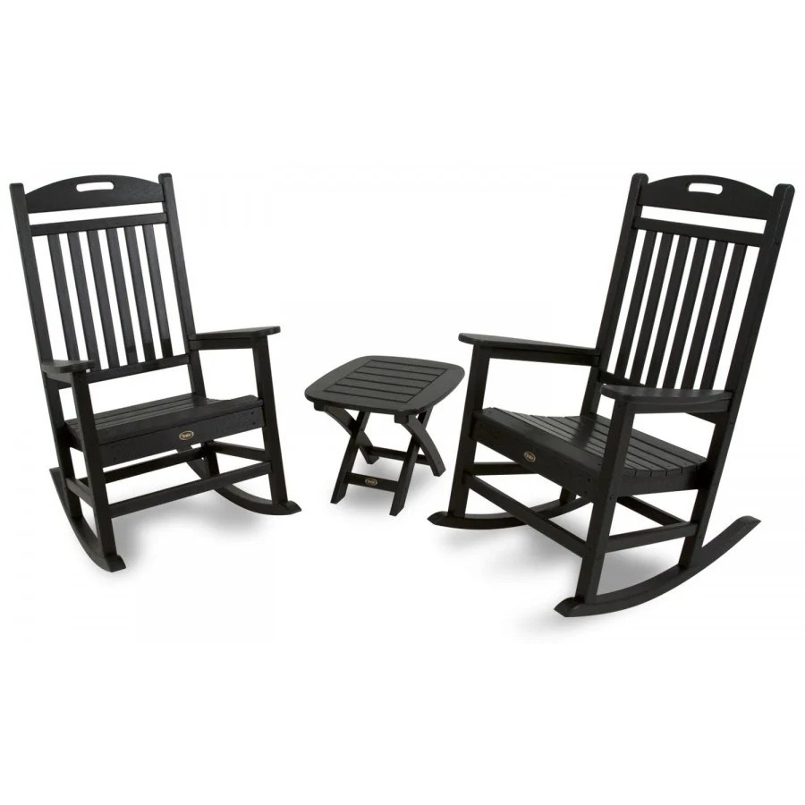 trex adirondack rocking chairs dining johannesburg yacht club chair by outdoor furniture
