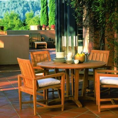kingsley bate amalfi club chair kmart patio chairs teak 7 piece deep seating ensemble