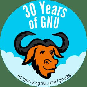 [ Celebrate 30 years of GNU! ]