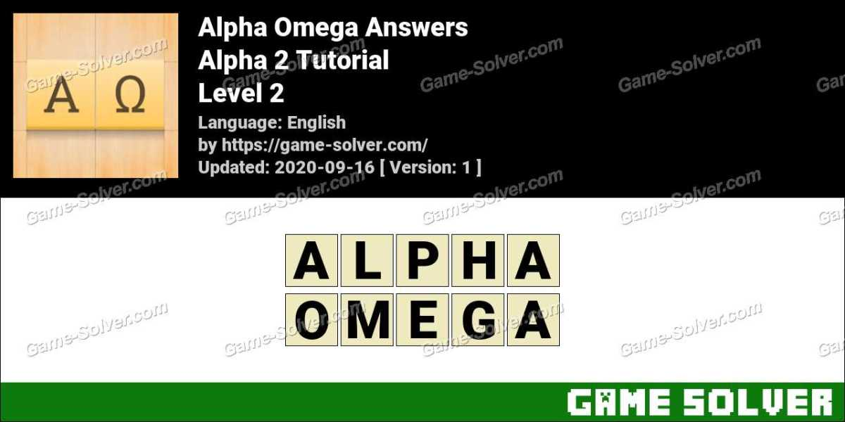 Alpha Omega Alpha 2 Tutorial