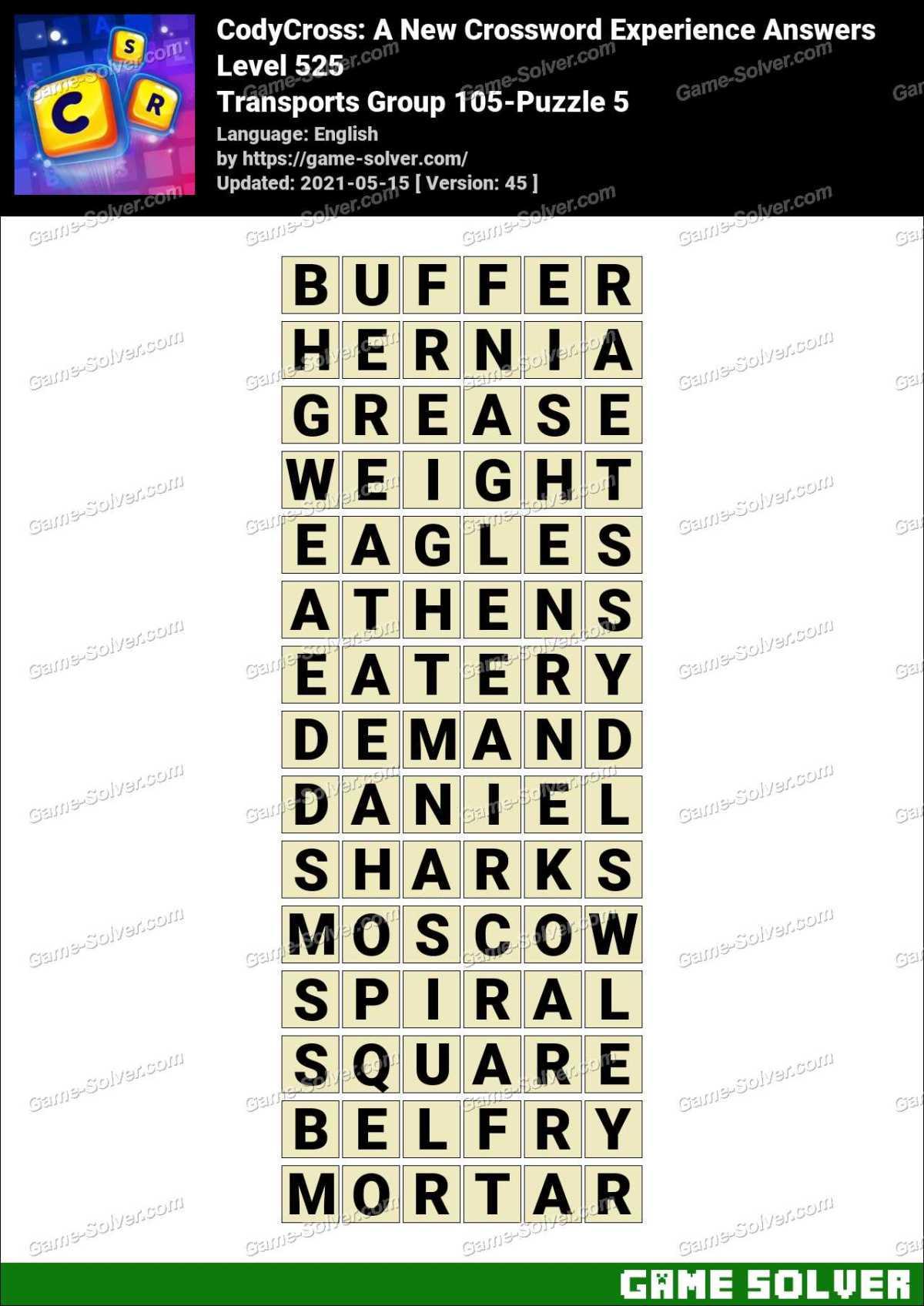 Mortar Master Crossword Clue