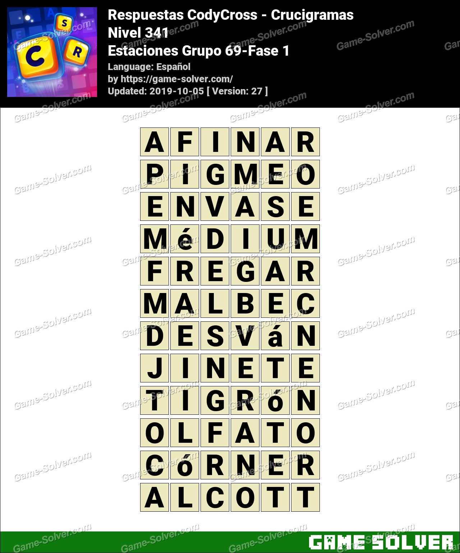 Respuestas CodyCross Estaciones Grupo 69-Fase 1