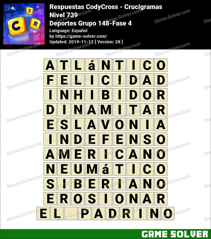 Respuestas CodyCross Deportes Grupo 148-Fase 4