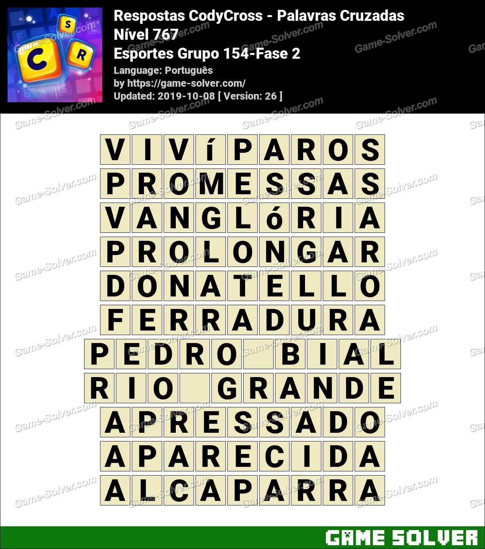 Respostas CodyCross Esportes Grupo 154-Fase 2