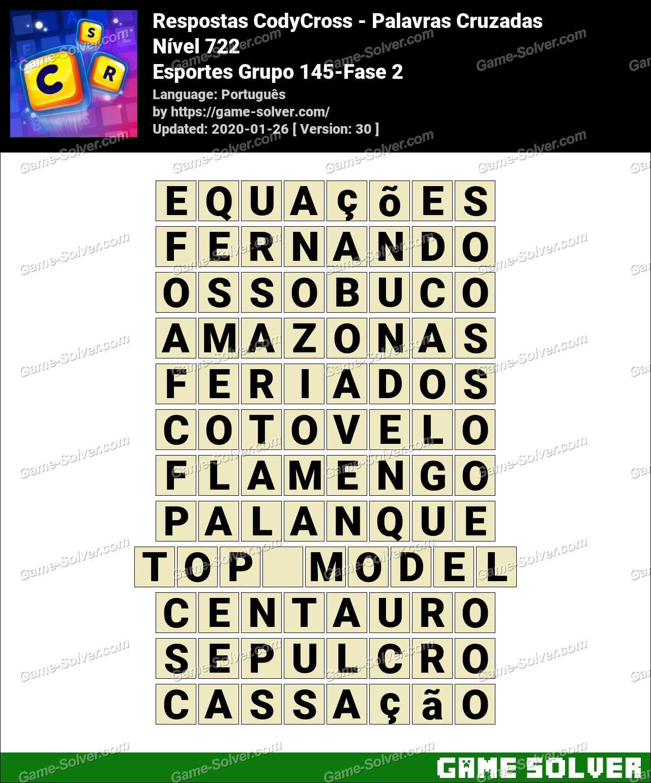 Respostas CodyCross Esportes Grupo 145-Fase 2